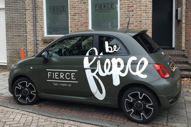 Ontwerp signing auto Fierce