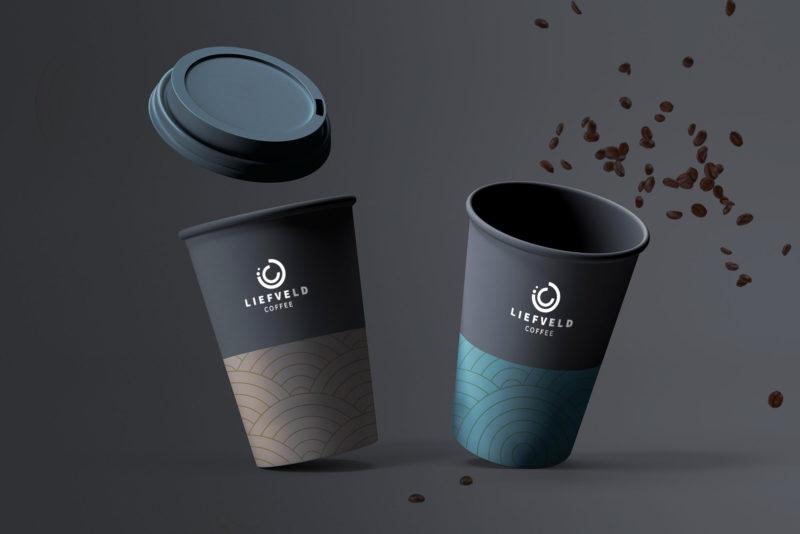 Logo en packaging ontwerp Liefveld Coffee